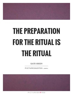 THE PREPARATION 