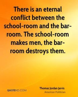 There is an eternal 