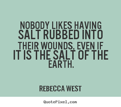 NOBODY LIKES HAVING 