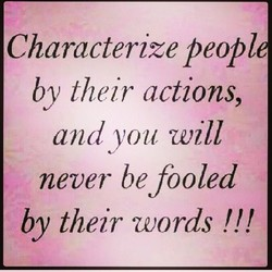 Characterize peopl 