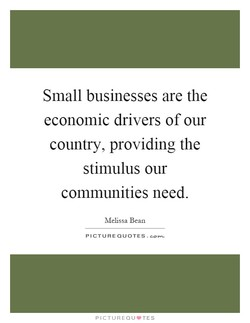 Small businesses are the 