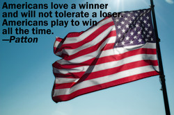Americans love a winner 