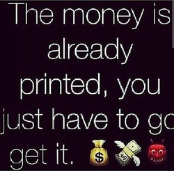 he money is 