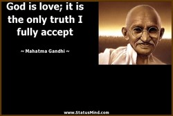 God is love; it is 