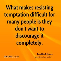 What makes resisting 