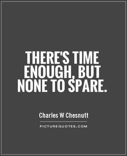 THERE'S TIME 