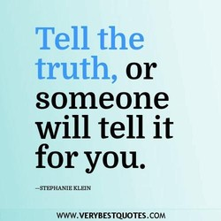Tell the 