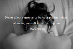 Never allow someone to be unpri ty w 