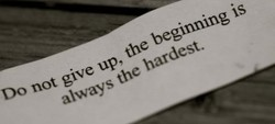 the beginning is 