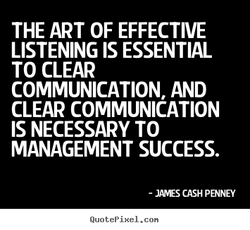 THE ART OF EFFECTIVE 