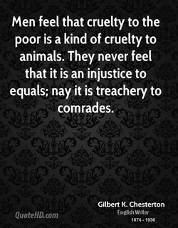 men feel that cruelty to the 