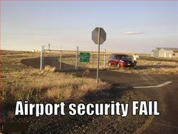 Airport security FAIL