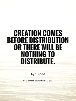 CREATION COMES 
