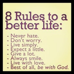 8 Rules to a 