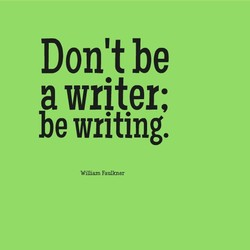 Don't be 