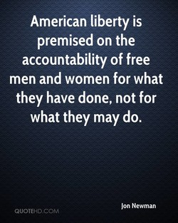 American liberty is 