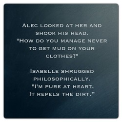 ALEC LOOKED AT HER AND 