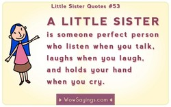 Little Sister Quotes #53 