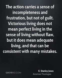 The action carries a sense of 