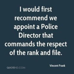 I would first 