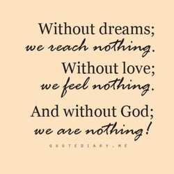 Without dreams; 