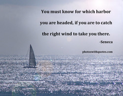 You must know for which harbor 