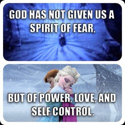 GOD HAS US A SPIRIT OF FEAR, BUT OF POWER;LOVE AND