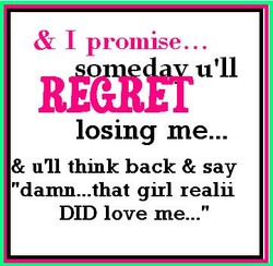 & I promise... 