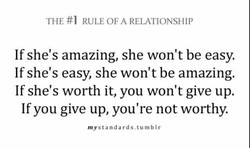 THE #1 RULE OF A RELATIONSHIP 