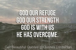 —GOD OUR REFUGE 