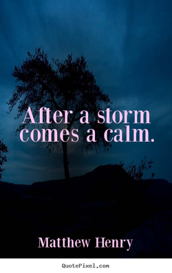 Aner a storm 