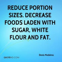 REDUCE PORTION 