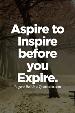 Aspire to 