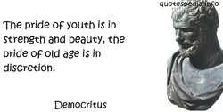 The pride OF youth is in 