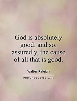 God is absolutely 