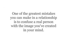 One of the greatest mistakes 
