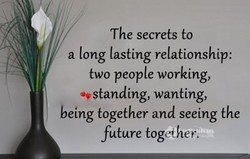 The secrets to 