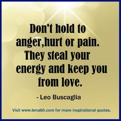 Don't hold to 