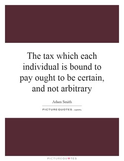 The tax which each 
