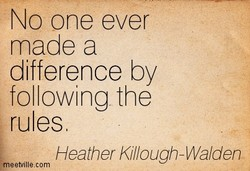 NO one ever 
