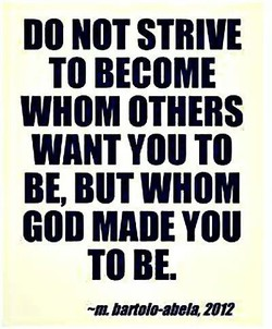 DO NOT STRIVE 
