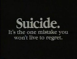 Suicide. 