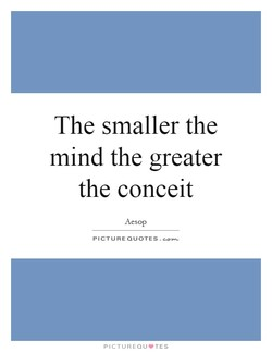 The smaller the 