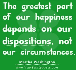 The greatest part 