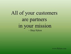 All of your customers 