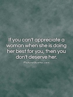 If you can't appreciate a 