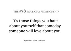 THE #78 RULE OF A RELATIONSHIP 