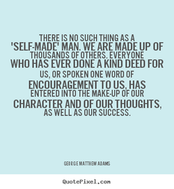 THERE IS NO SUCH THING AS A 