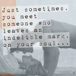 Just sometimes, 