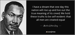 I have a dream that one day this 